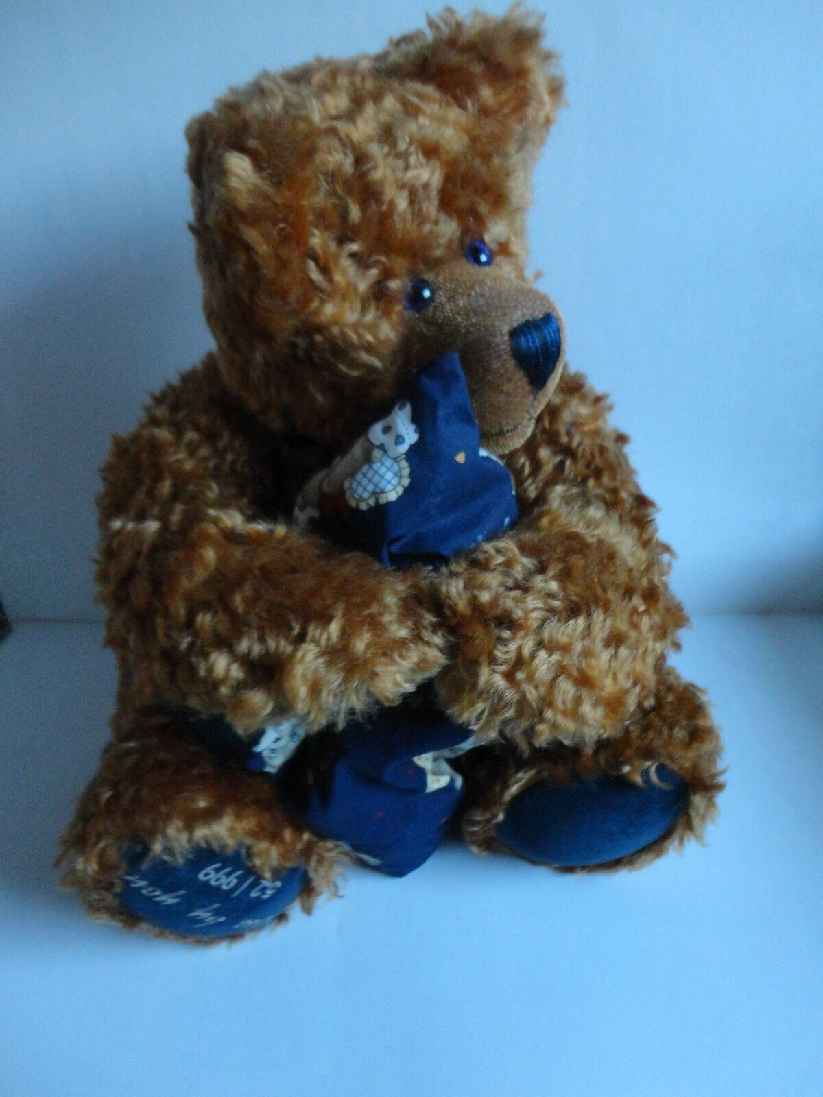 Emmy Orso Teddy  blu by You  N. 52/999 stata limitata senza certificato