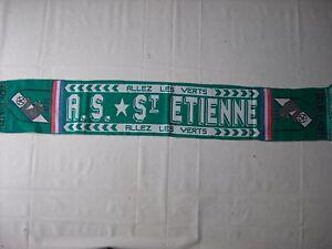 d1-sciarpa-SAINT-ETIENNE-FC-football-club-calcio-scarf-bufanda-francia-france