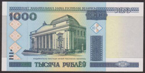 P 28a   Uncirculated Banknotes 1000    RUBLEI  2000   UNC BELARUS