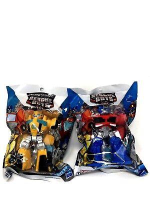 Transformers Rescue Bots Lot de 2-OPTIMUS PRIME ET BUMBLEBEE playschool Heroes