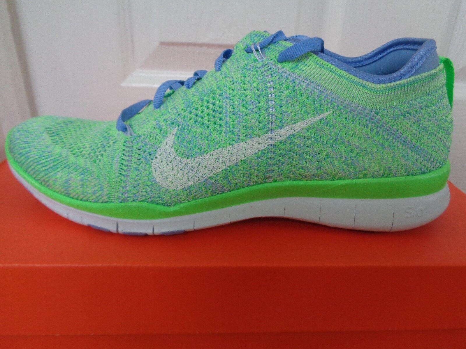 Nike Free TR Flyknit 718785 301 femmes  trainers sneakers uk 6 eu 40 us 8.5 NEW+BOX