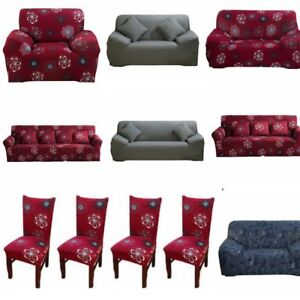 Details about Stretch Sofa Covers 1/2/3/4 Seater Sofa Chair Cover Protector  Couch Slipcover