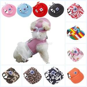 US-Pet-Dog-Puppy-Baseball-Visor-Hat-Peaked-Cap-Sunbonnet-Outdoor-Topee-Summer