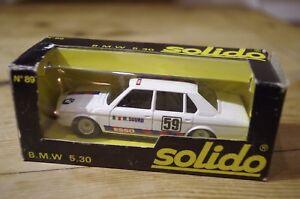 Solido-Racing-Car-BMW-530-No89-Vintage-Die-Cast-Boxed