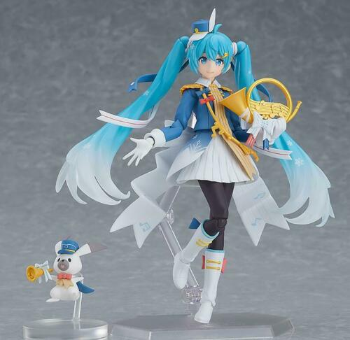 Snow Parade Ver. Vocaloid USA In Stock Authentic Figma #EX-060 Snow Miku