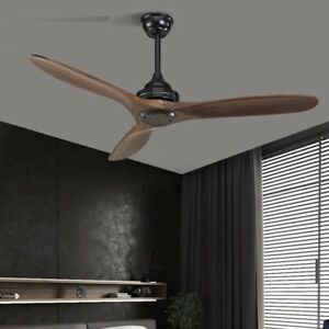Remote Control Wooden Ceiling Fans