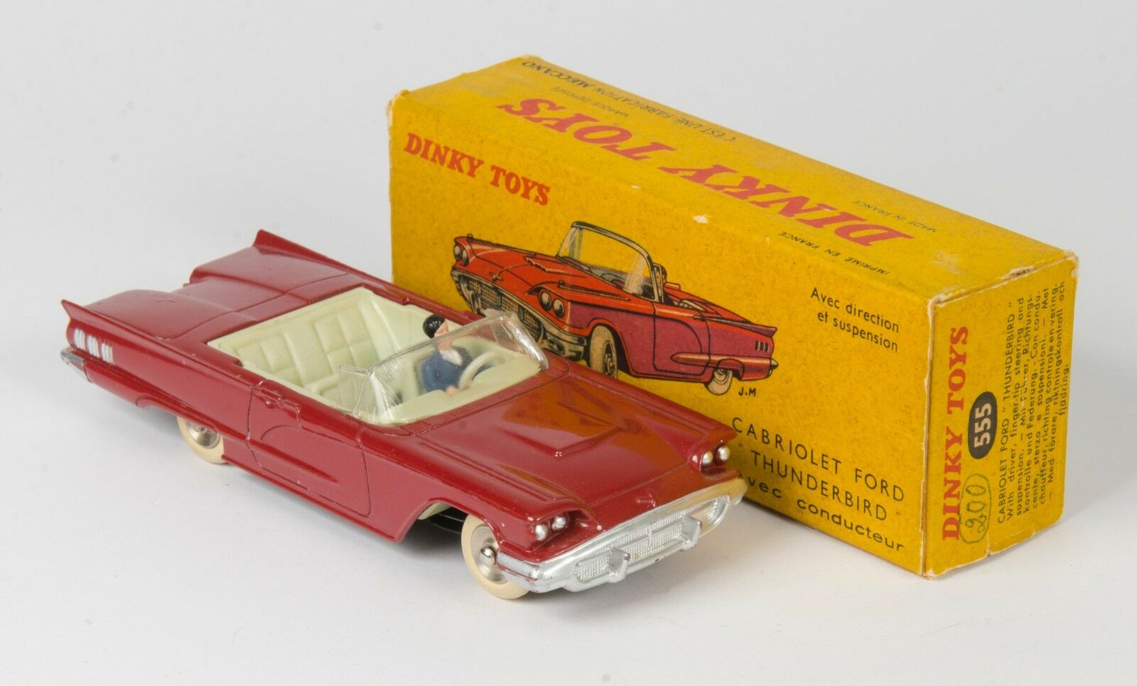 French dinky 555 ford cabriolet