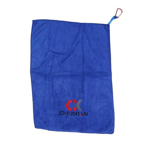 Tragbare Angeln Handtücher fangen Fisch Handtuch Antihaft Köder Handtuch