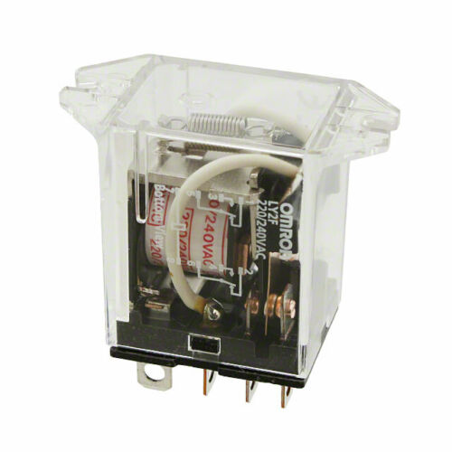 General Purpose Relays OMRON LY2F-AC24 Relay,8Pin,DPDT,10A,24VAC ...