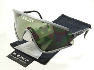 Oakley-Eyeshade-Grey-1984-Sonnenbrille-M-Frame-Radarlock-Jawbone-Razor-Blade-Rar
