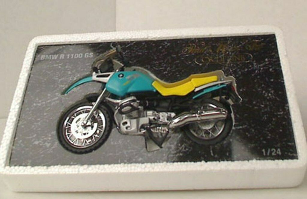 MINICHAMPS 242 GS1102 RR1103 RS1101 BMW R 1100 model motor bikes Cycle Line 1 24
