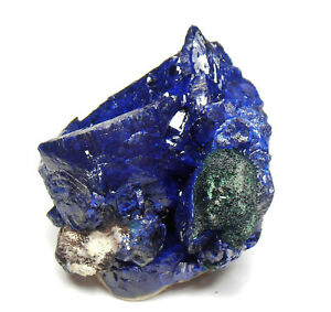 Outstanding-Azurite-Crystal-Cluster-with-Malachite-Milpillas-31-mm