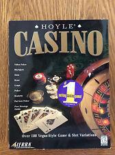 Hoyle Casino PC, 1998, Sierra OVER 100 GAMES
