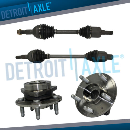 2 Both Front Left and Right CV Drive Axle Drive Shafts for Cadillac CTS 08-13