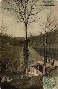 CPA-Saint-James-Une-Chute-du-Beuvron-633113