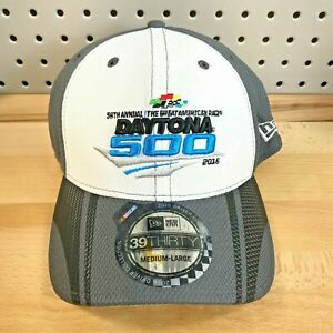 Daytona-500-NASCAR-58th-Annual-New-Era-Stretch-Fit-39THIRTY-Cap-2016-NWT-Hat-M-L