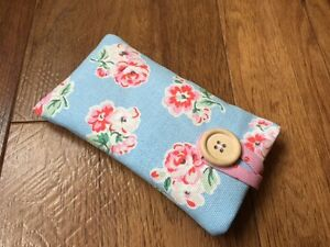 iPhone 6s  6s Plus Fabric Padded Case Made With Cath Kidston Blue Ashdown Rose - Wilmslow, United Kingdom - iPhone 6s  6s Plus Fabric Padded Case Made With Cath Kidston Blue Ashdown Rose - Wilmslow, United Kingdom