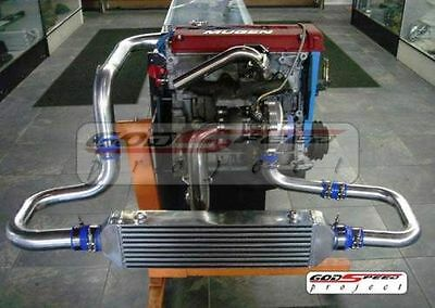 CIVIC CRX INTEGRA B16 B18 B-SERIES ENGINE DOHC T3T4 BOLT ON TURBO CHARGER KIT