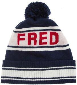 Fred Perry Ski Beanie - Navy