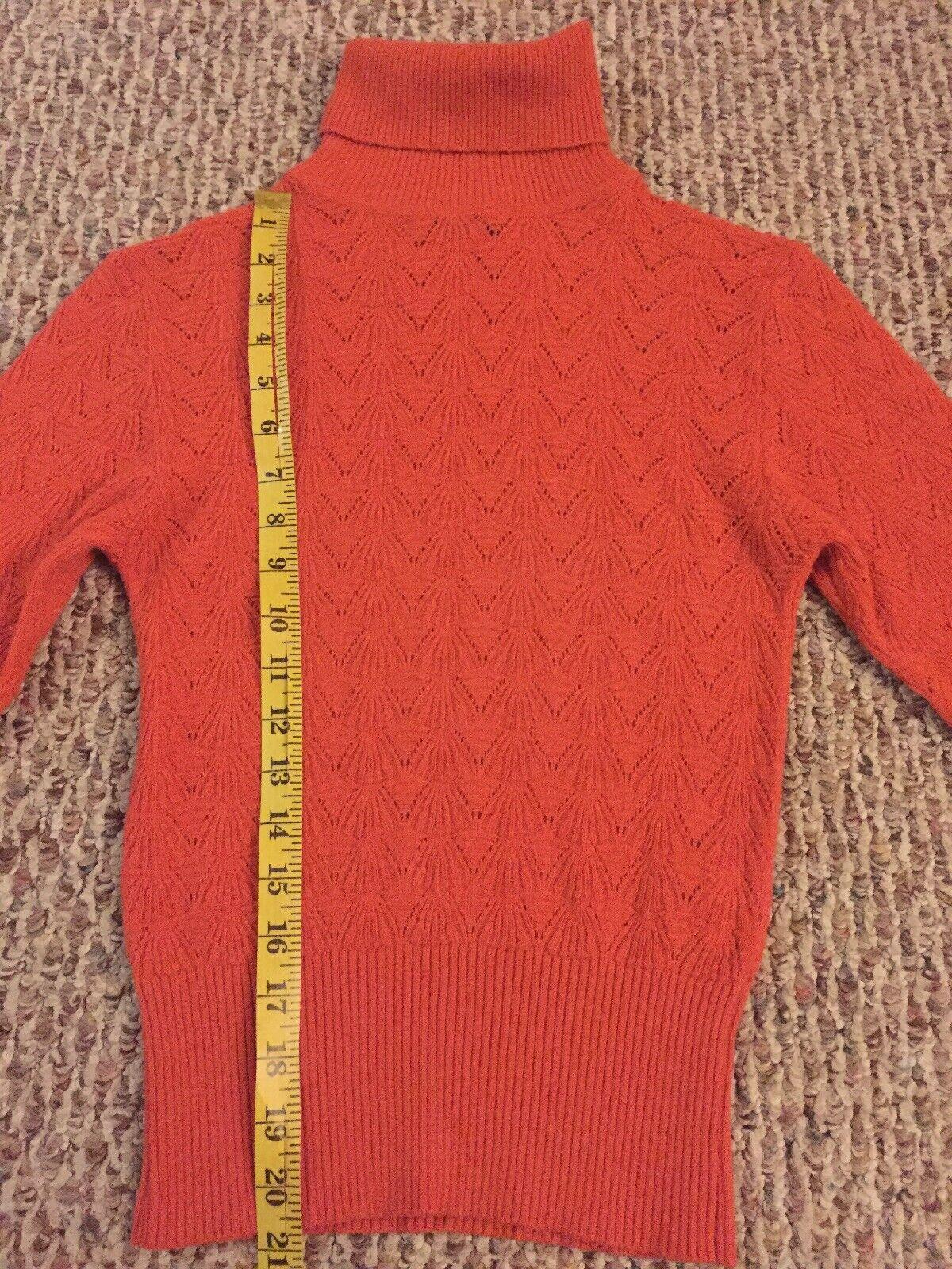 D&G DOLCE & GABBANA Wool Blend Turtleneck Knit Sw… - image 9