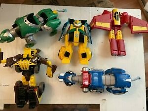 A LOT OF FIVE (5) MIXED TRANSFORMERS FIGURES