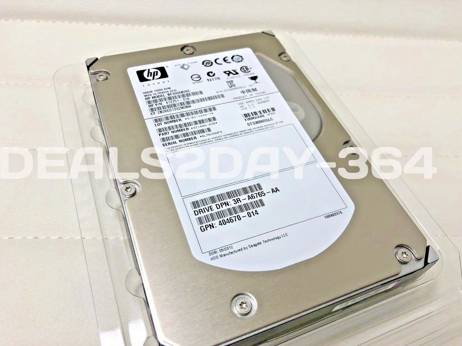 "Hard Drive Seagate Cheetah 15K.5 300GB Internal 15000RPM 3.5/"" ST3300655LC"
