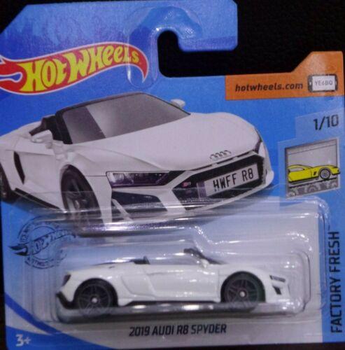 Hot Wheels 2019 Audi R8 Spyder Factory Fresh 1//10 2020 175//250 GHB28-D521