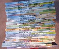 "LOT of 26 ""An Alice in Bibleland"" Storybook by Alice Joyce Davidson"