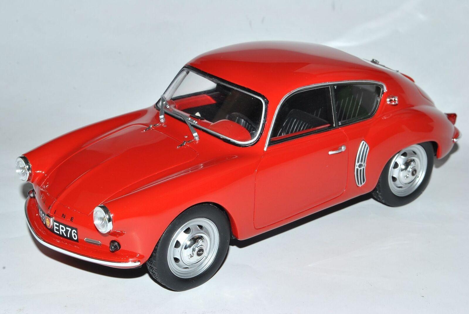 ALPINE RENAULT a106 a106 a106 Coupe Rouge Nr 593 1 18 Otto Modèle voiture avec ou sans indiv... 12adf5