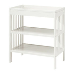 Astonishing Details About New Designer Baby Change Table Nappy Changing Dual Shelves Storage Tray White Download Free Architecture Designs Embacsunscenecom