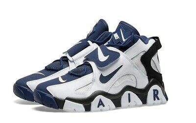 New Nike Air Barrage Mid White Midnight