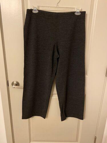 Eileen Fisher Plus Size Gray Pants Size L
