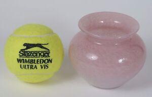 Vasart-pink-vase-bowl-signed