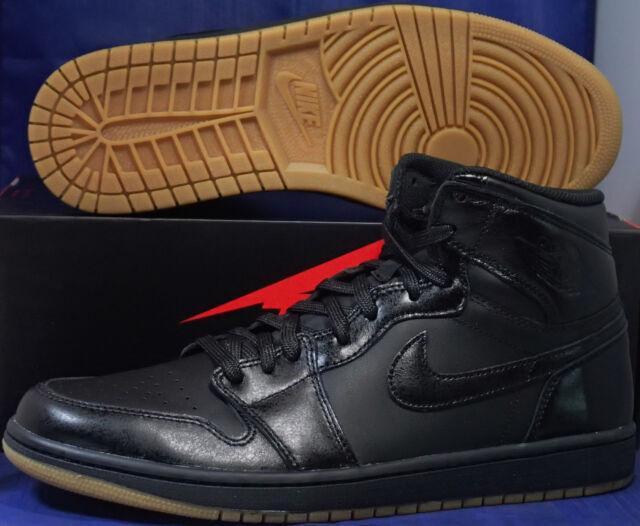 4e3dce9790a Nike Air Jordan 1 Retro High OG Black Gum Light Brown SZ 8 ( 555088-