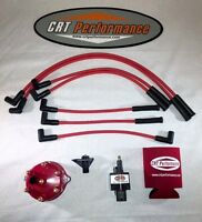 Jeep Cherokee 45k 4.0l Ignition Tune Up Kit Xj 1994-1997 Red Cap + Red Wires