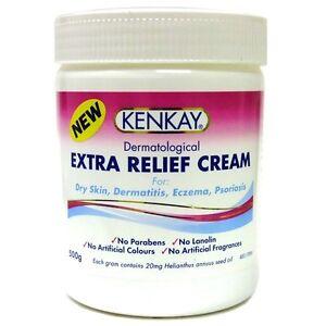 HOT-DEAL-gt-gt-KENKAY-Dermatological-EXTRA-RELIEF-CREAM-500g-eczema-psoriasis