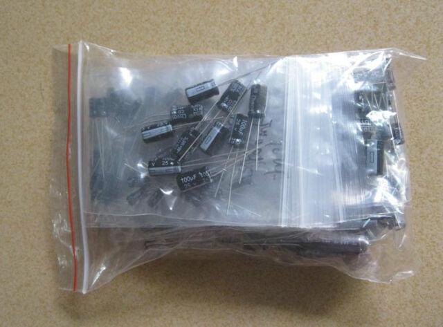Kit 10value 100pcs 4X7mm Electrolytic Capacitor Assortment