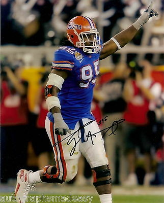 Sports Mem, Cards & Fan Shop Diplomatic Ray Mcdonald Florida Gators Signed 8x10 Photo W/coa Refreshing And Beneficial To The Eyes