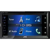 Jvc Am/fm Dvd D.din 6.8 Touchscreen Bt Siriusxm Ready