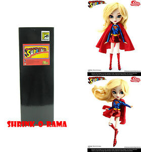 NIB-Groove-Pullip-P-099-Supergirl-Fashion-Doll-DC-Comics-2013-SDCC-Exclusive