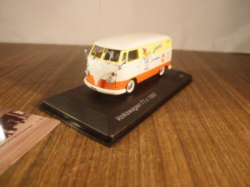 box Service car 1:43 PATATINE PAI DIECAST car model Volkswagen T1 c 1965 NOS