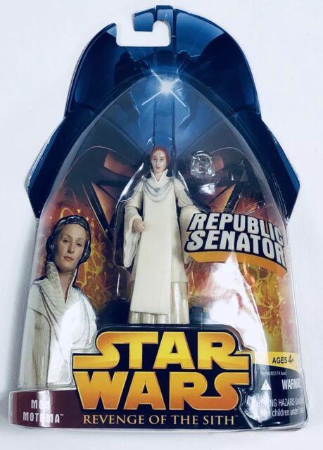 Star Wars Senator Mon Mothma Rots Action Figure 24 Moc Revenge Of The Sith Toy