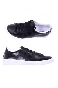 Caricamento dell immagine in corso Scarpe-Sneaker-Armani-Jeans-AJ-Shoes- Pelle-Uomo- c533f08f0a4