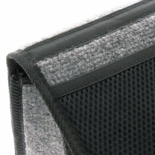 Sumex Black Carpet Car Protection Tidy Organizer Storage Boot Bag with Pockets
