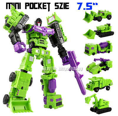 Devastator Advanced 7 Robots Transformers Movie Ages 4 Toy Gift Play Boys Girls