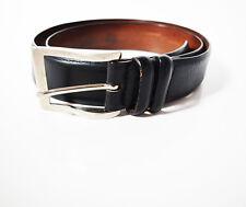 Claudio Orciani Original Men's Real Leather Belt Black