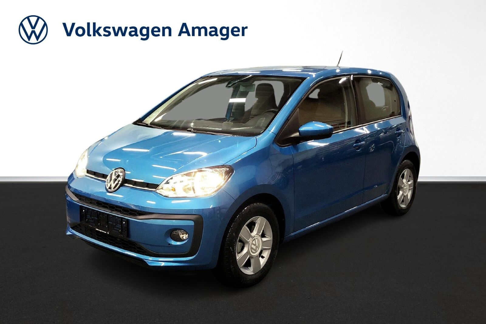 VW Up! 1,0 MPi 60 Move Up! BMT 5d - 129.900 kr.