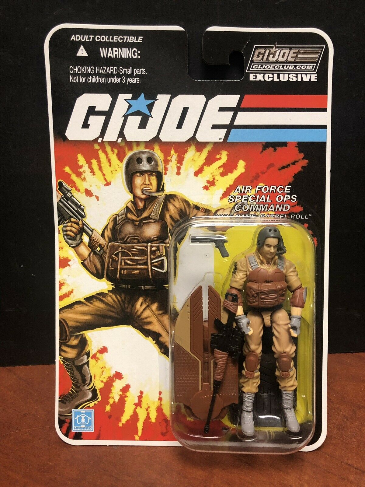 GI Joe Club FSS 1.0 Barrel Roll Dela0935