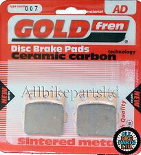 Kawasaki KXT 250 Rear Sintered Brake Pads 1987 Onwards - Goldfren - KXT250