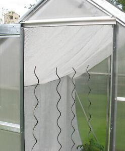 Schattiernetz Sonnenschutz Hagelschutz 1,5m x 8,0m ca.80% Schattierwert 1,40€/m²